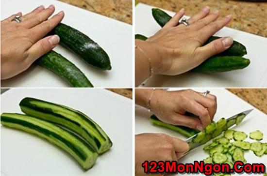Cách làm salad dưa leo kiểu Nhật lạ miệng mà thơm ngon dễ ăn phần 2