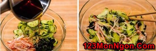 Cách làm salad dưa leo kiểu Nhật lạ miệng mà thơm ngon dễ ăn phần 7