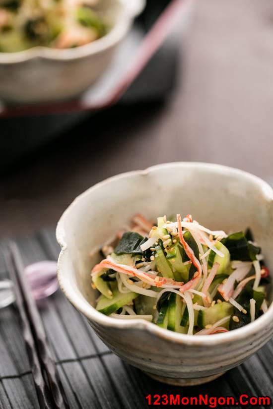 Cách làm salad dưa leo kiểu Nhật lạ miệng mà thơm ngon dễ ăn phần 8