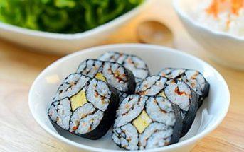 Cách làm sushi độc đáo đơn giản mà cực đẹp mắt thơm ngon
