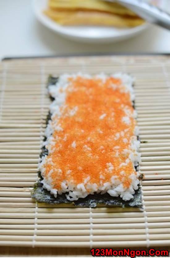 Cách làm sushi độc đáo đơn giản mà cực đẹp mắt thơm ngon phần 4