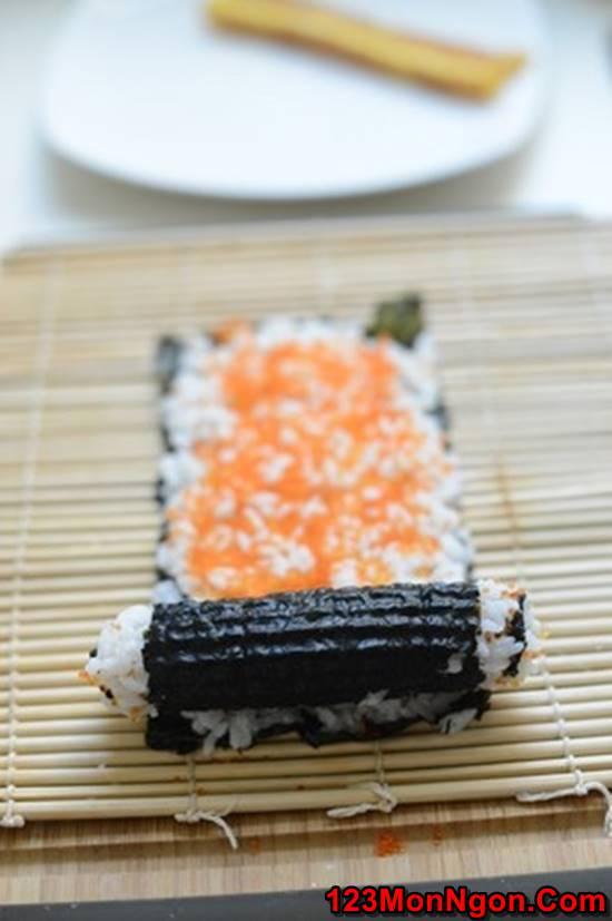 Cách làm sushi độc đáo đơn giản mà cực đẹp mắt thơm ngon phần 5