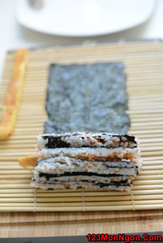 Cách làm sushi độc đáo đơn giản mà cực đẹp mắt thơm ngon phần 6