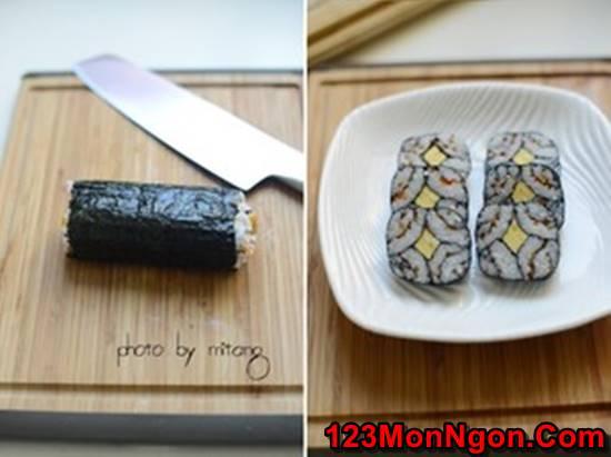 Cách làm sushi độc đáo đơn giản mà cực đẹp mắt thơm ngon phần 7