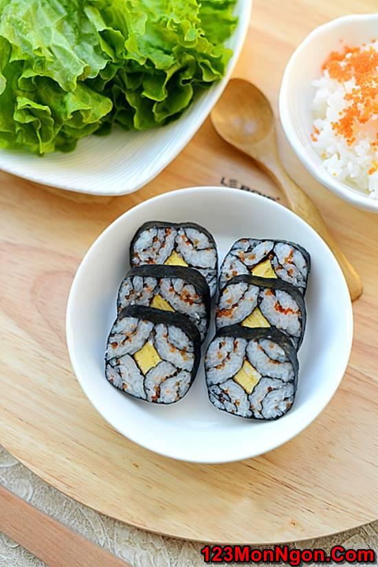 Cách làm sushi độc đáo đơn giản mà cực đẹp mắt thơm ngon phần 9