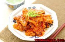 Cách làm thịt heo chiên giòn sốt chua ngọt thơm ngon hấp dẫn ăn là ghiền