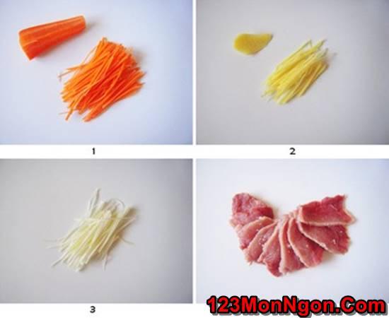 Cách làm thịt heo chiên giòn sốt chua ngọt thơm ngon hấp dẫn ăn là ghiền phần 2