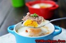 Cách làm trứng đúc thịt kiểu mới thơm ngon bổ dưỡng
