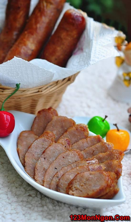 Cách làm xúc xích hun khói tại nhà đơn giản mà thơm ngon hấp dẫn ăn là ghiền phần 1
