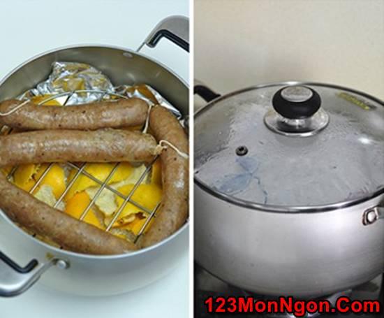 Cách làm xúc xích hun khói tại nhà đơn giản mà thơm ngon hấp dẫn ăn là ghiền phần 8