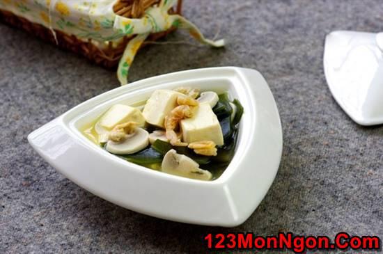 Cách nấu canh đậu hũ rong biển thơm ngon mát lành cho cả nhà thưởng thức phần 10