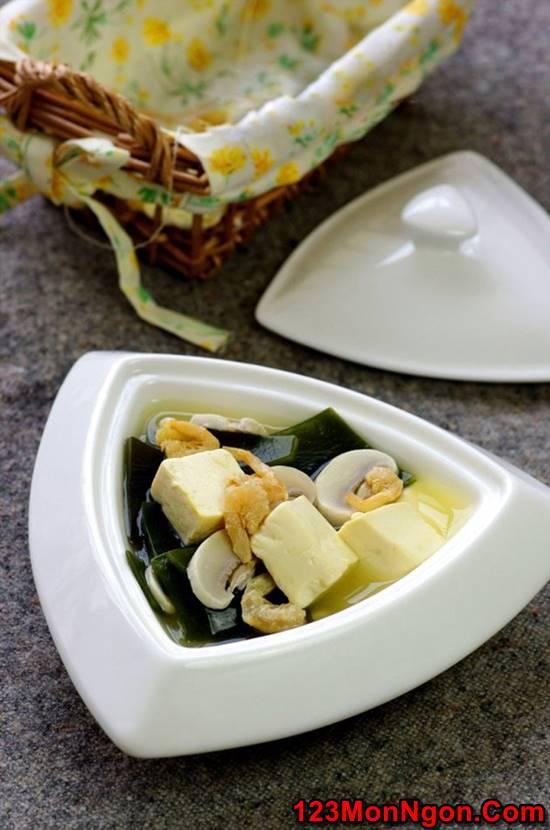 Cách nấu canh đậu hũ rong biển thơm ngon mát lành cho cả nhà thưởng thức phần 11