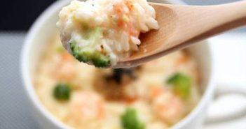 Cách nấu cháo tôm bông cải phô mai thơm ngon bổ dưỡng cho bé