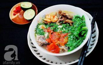 Cách nấu món bún tôm Hải Phòng thơm ngon hấp dẫn cho ngày cuối tuần