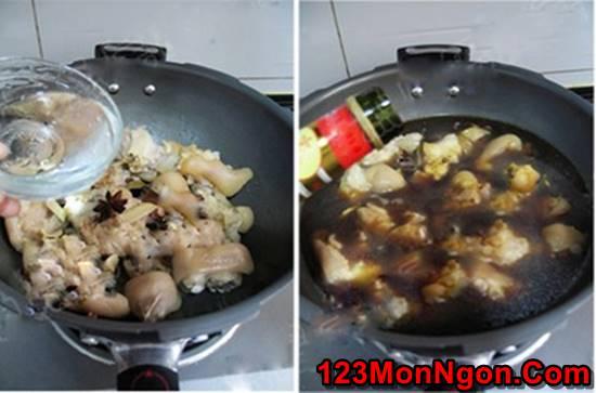 Cách nấu móng giò hầm ngũ vị thơm ngon bổ dưỡng cho ngày cuối tuần phần 3