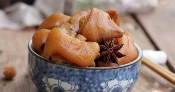Cách nấu móng giò hầm ngũ vị thơm ngon bổ dưỡng cho ngày cuối tuần