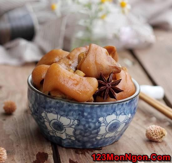 Cách nấu móng giò hầm ngũ vị thơm ngon bổ dưỡng cho ngày cuối tuần phần 5