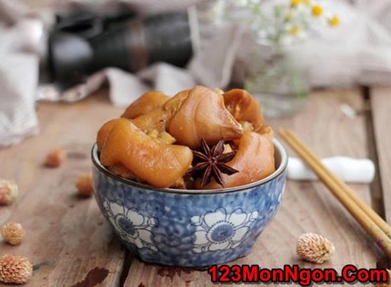 Cách nấu móng giò hầm ngũ vị thơm ngon bổ dưỡng cho ngày cuối tuần phần 6