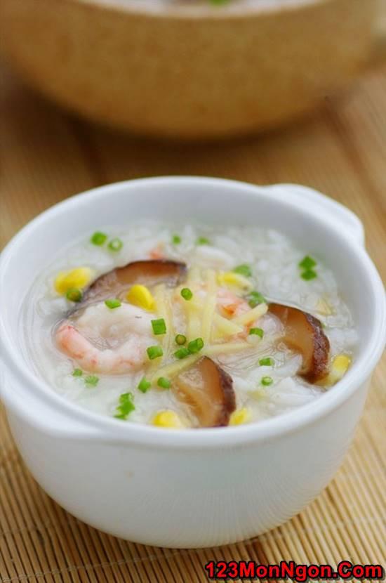 Công thức nấu cháo hải sản thơm ngon bổ dưỡng không bị tanh phần 10
