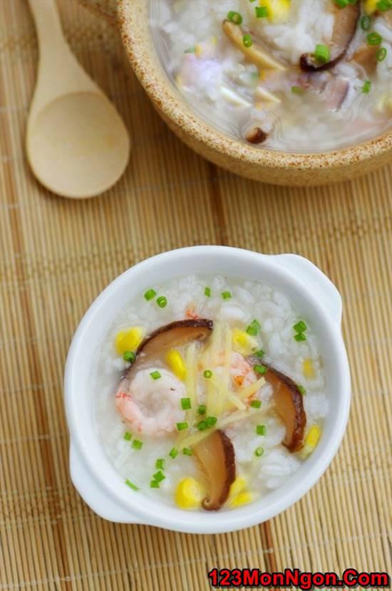 Công thức nấu cháo hải sản thơm ngon bổ dưỡng không bị tanh phần 11