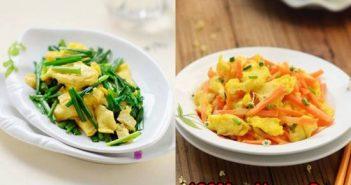 Cách làm 2 món trứng chiên thơm ngon nhanh gọn đủ chất cho cả nhà