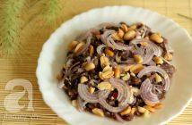 Cách làm bò tái chanh chua ngọt thơm ngon bổ dưỡng nhâm nhi cuối tuần