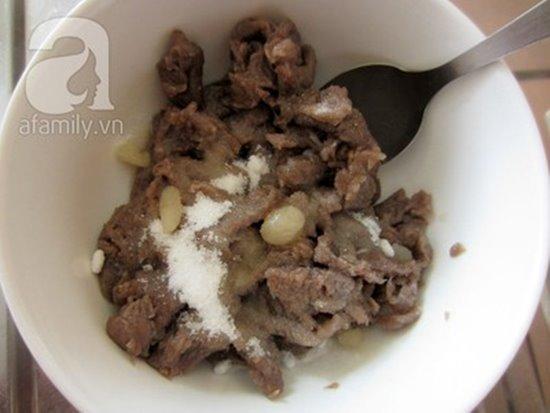Cách làm bò tái chanh chua ngọt thơm ngon bổ dưỡng nhâm nhi cuối tuần phần 7