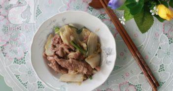 Cách làm bò xào cải thảo giòn ngọt thơm ngon bỗ dưỡng không gây ngán