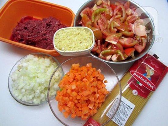 Cách làm mì ý sốt cà chua bò bằm thơm ngon bổ dưỡng cho bữa sáng phần 2
