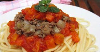 Cách làm mì ý sốt cà chua bò bằm thơm ngon bổ dưỡng cho bữa sáng