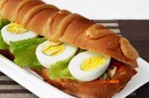Cách làm món bánh mì trứng kiểu mới thơm ngon hấp dẫn đổi vị bữa sáng