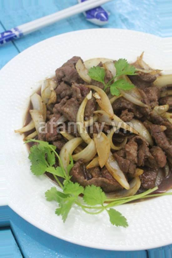 Cách làm món bò sốt tiêu đen thơm ngon đậm đà cho bữa tối phần 10