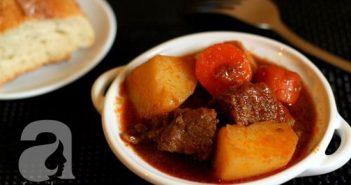 Cách làm món bò sốt vang đậm đà nóng hổi cực ngon cho bữa tiệc cuối tuần