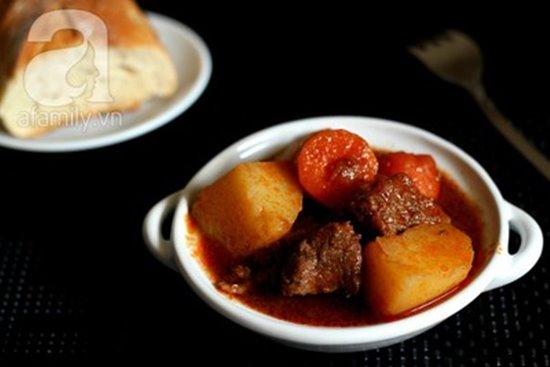 Cách làm món bò sốt vang đậm đà nóng hổi cực ngon cho bữa tiệc cuối tuần phần 11