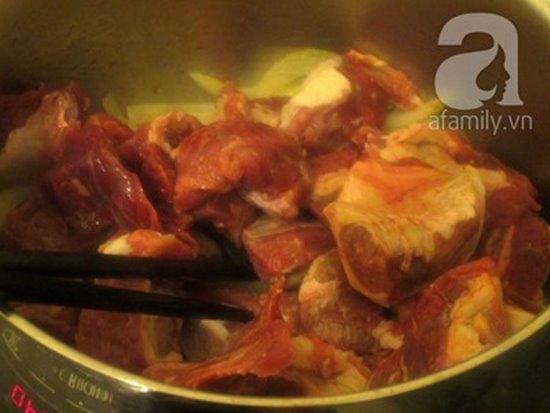 Cách làm món bò sốt vang đậm đà nóng hổi cực ngon cho bữa tiệc cuối tuần phần 6