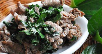 Cách làm món bò xào lá lốt thơm lừng hấp dẫn ngon cơm ngày cuối tuần