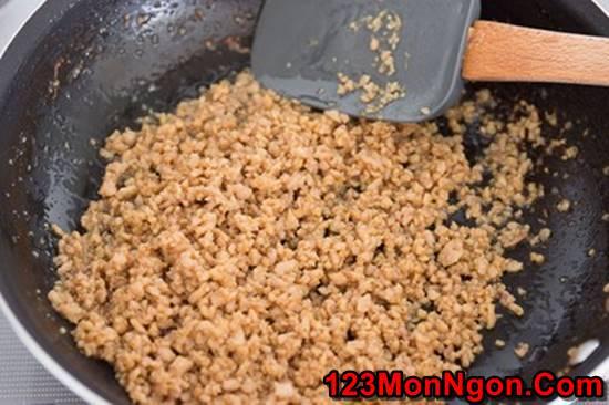 Cách làm món cơm gà băm kiểu Nhật mới lạ bổ dưỡng cực thơm ngon phần 5