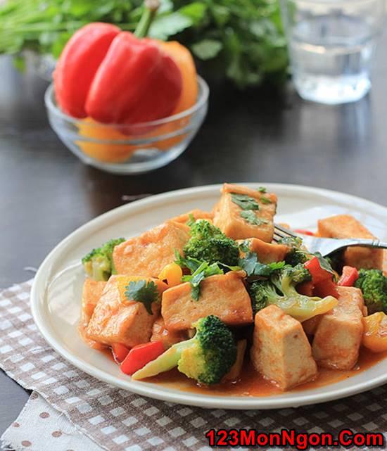 Cách làm món đậu sốt chua ngọt thơm ngon dễ làm dễ ăn phần 1