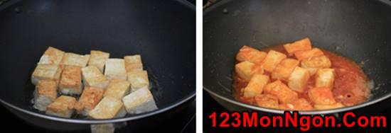 Cách làm món đậu sốt chua ngọt thơm ngon dễ làm dễ ăn phần 2