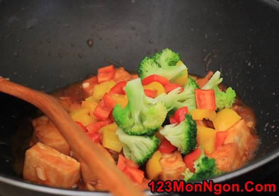 Cách làm món đậu sốt chua ngọt thơm ngon dễ làm dễ ăn phần 3