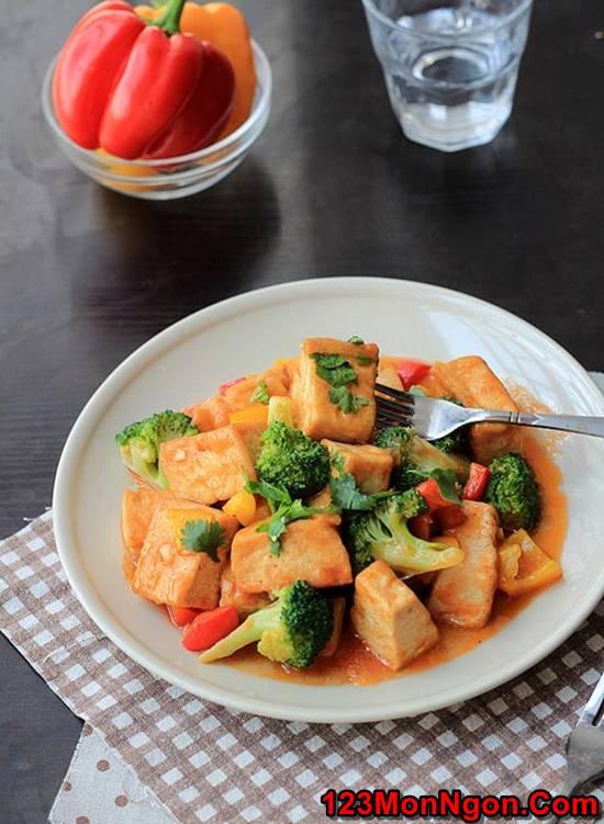Cách làm món đậu sốt chua ngọt thơm ngon dễ làm dễ ăn phần 4