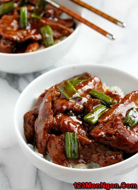 Cách làm món thịt bò sốt nước tương đậm đà ngon cơm ngày lạnh phần 1