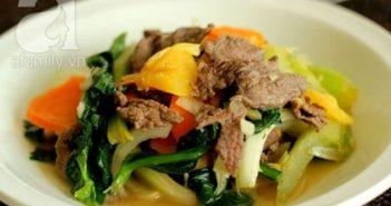 Cách làm món thịt bò xào cần thơm lừng hấp dẫn cực ngon
