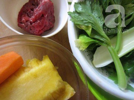 Cách làm món thịt bò xào cần thơm lừng hấp dẫn cực ngon phần 2