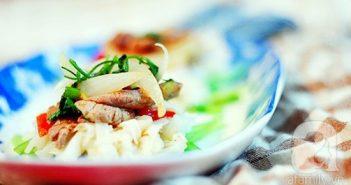 Cách làm phở xào thịt bò mới lạ thơm ngon cực đơn giản