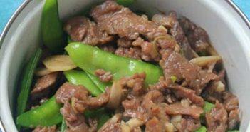 Cách làm thịt bò xào đậu Hà Lan giòn ngon bổ dưỡng đổi vị cho bữa cơm