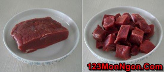 Cách làm thịt bò xào táo mới lạ thơm ngon đổi vị cuối tuần phần 2