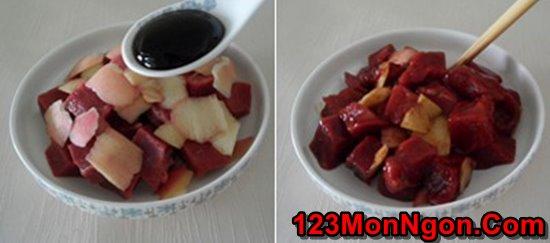 Cách làm thịt bò xào táo mới lạ thơm ngon đổi vị cuối tuần phần 4