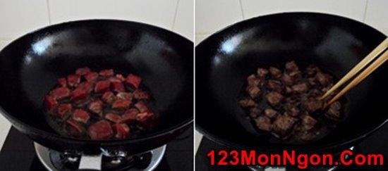 Cách làm thịt bò xào táo mới lạ thơm ngon đổi vị cuối tuần phần 5