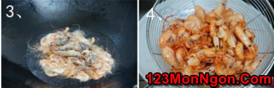 Cách làm tôm xào bông hẹ thanh mát bổ dưỡng cực ngon cơm phần 5